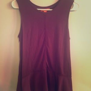 Joe Fresh Tops - Peplum tank